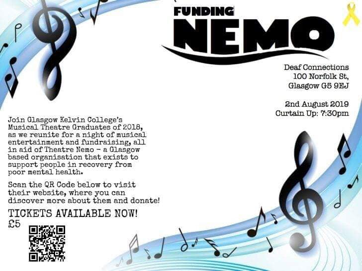 funding nemo glagow kelvin college