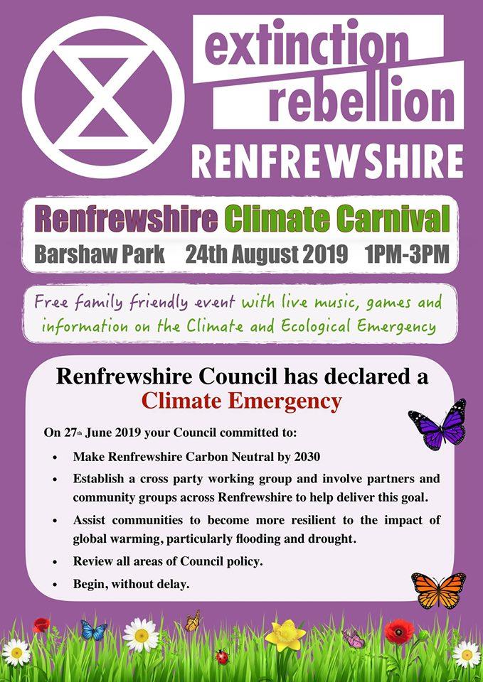 climate carnival renfrew