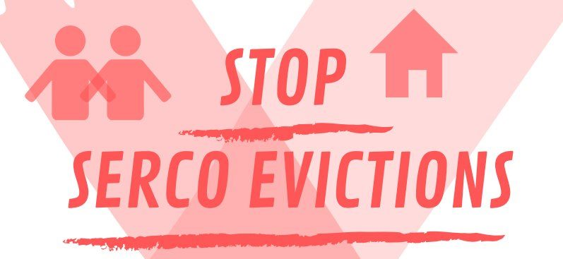 stop serco evictions