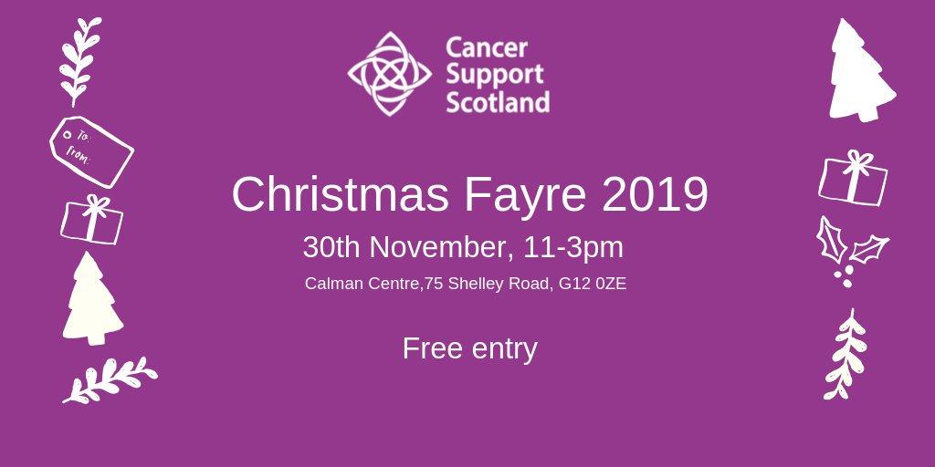 christmas fair cancer spport
