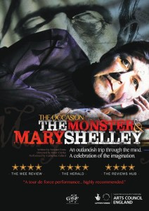 the monster and mary shelley