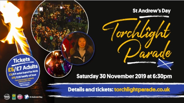torchlight parade st andrews day