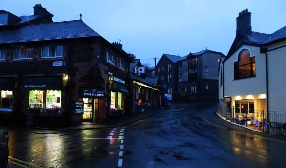 Dusk In Ambleside. Lake District