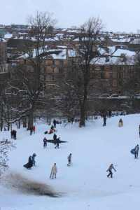 art show snow