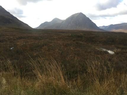 glen coe grass mountains