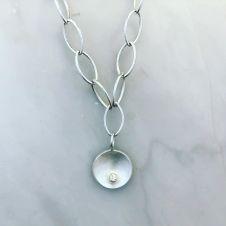 silver bracelet link shona