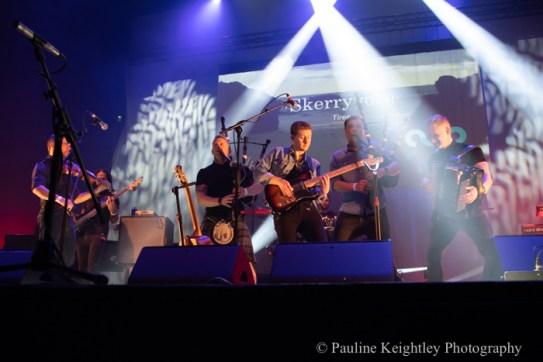 Glasgow, Scotland Celtic Connections festival 2020. Skerryvore