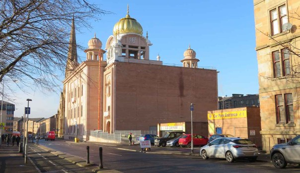 Central Gurdwara Singh Sabha. Glasgow.