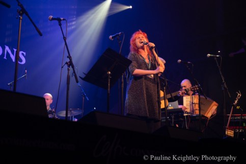 Glasgow, Scotland. 29th January 2020. Celtic Connections festival 2020. Eddi Reader, Scottish singer, performed at a concert Caledonia Soul at the Old Fruitmarket. as part of Celtic Connections 2020. Photo Pauline Keightley/ Alamy News.