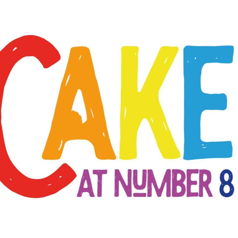 cake at number eight logo