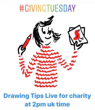 giving tuesday art