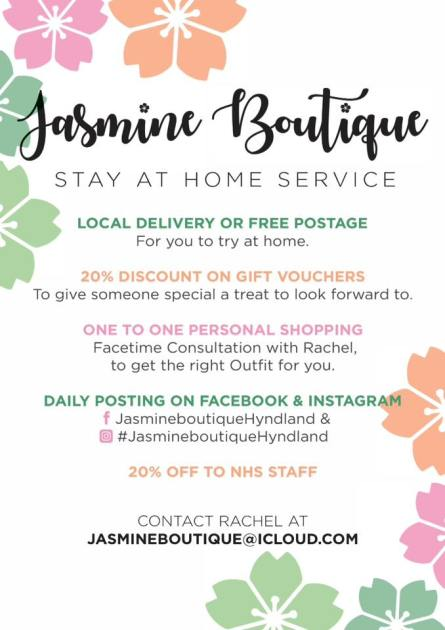 jasmine boutique stay at home image