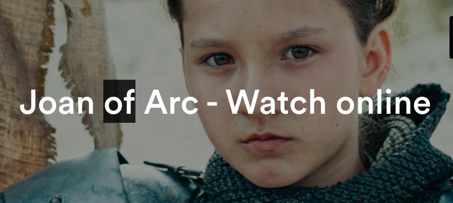 joan or arc watch online