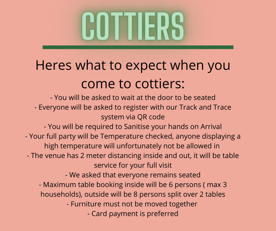 what to expect cottiers