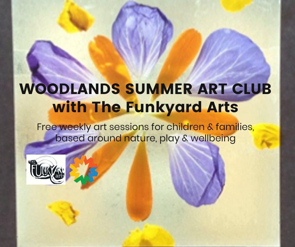 woodlands summer art club