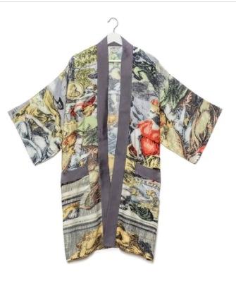 atlas collar kimono