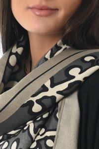 greu print scarf