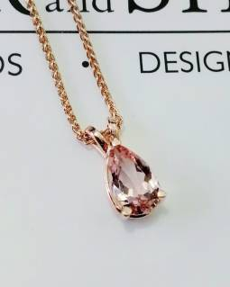 pink pendant b and s