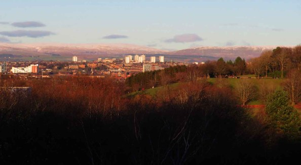 Bellahouston Park from Mosspark Hill