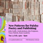 New Patterns for Paisley, Paisley Book Festival