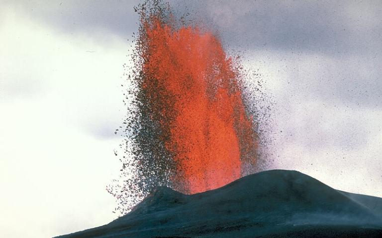 fountain of lava hawai j d griggs