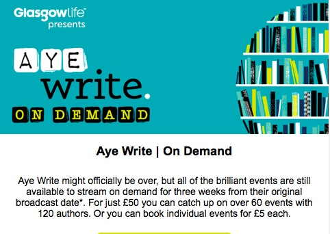 aye write on demand