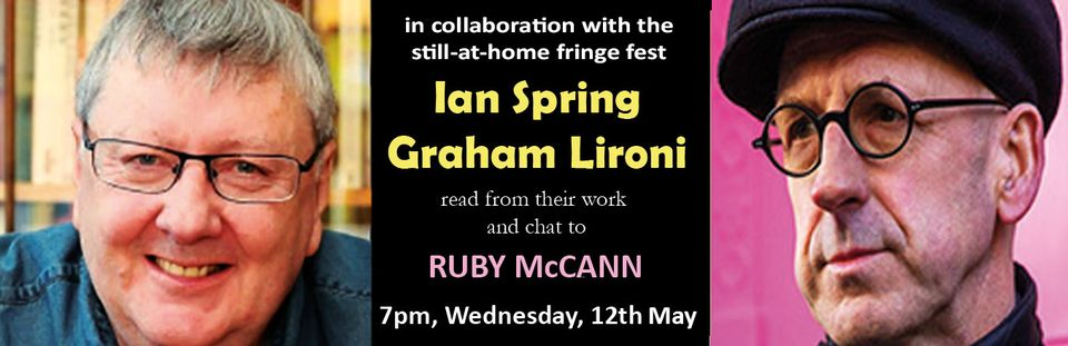 ruby mccann in convesation with graham leroni and ian spring