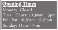 opening times janet and john