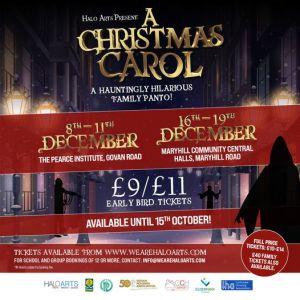 a christmas carol halo arts 2021