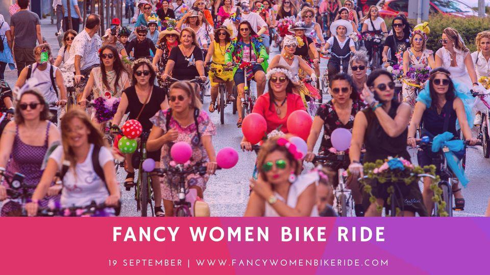 glasgow fancy women bike ride