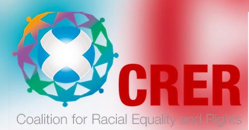 coalition for racial equality crer logo