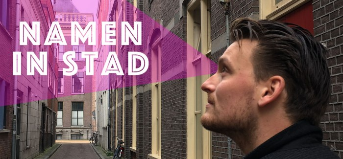 Namen In Stad #1: Naberstraat