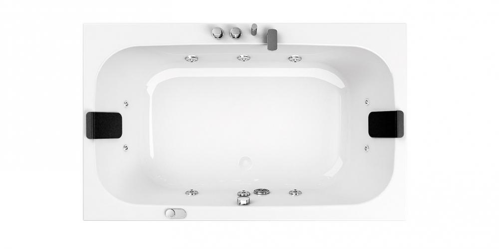 Pop Rectangular Corner And Asymmetric Bathtubs With