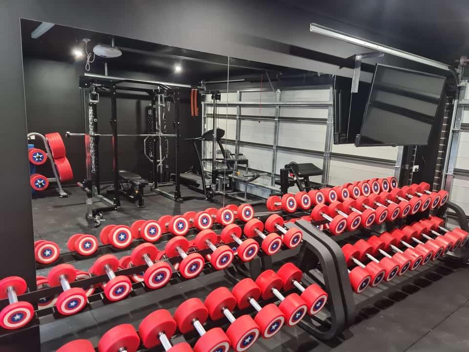garage gym mirrors