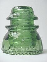 Lynchburg Glass Corporation insulator - LYNCHBURG 44