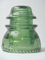 Lynchburg Glass Corporation insulator - LYNCHBURG 44