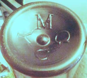 M C G Y (faint IA between G and C). Unknown British maker. (Photo courtesy of Natasha Moletta)