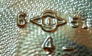 Owens-Illinois mark on base of 1951 soda bottle