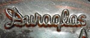 Duraglas mark used by Owens-Illinois Glass Company