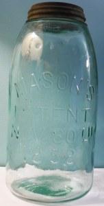Mason's Patent Nov 30th 1858 jar