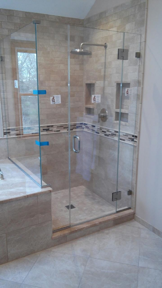 Imperial Series Frameless Glass Shower Doors In Nj Glass