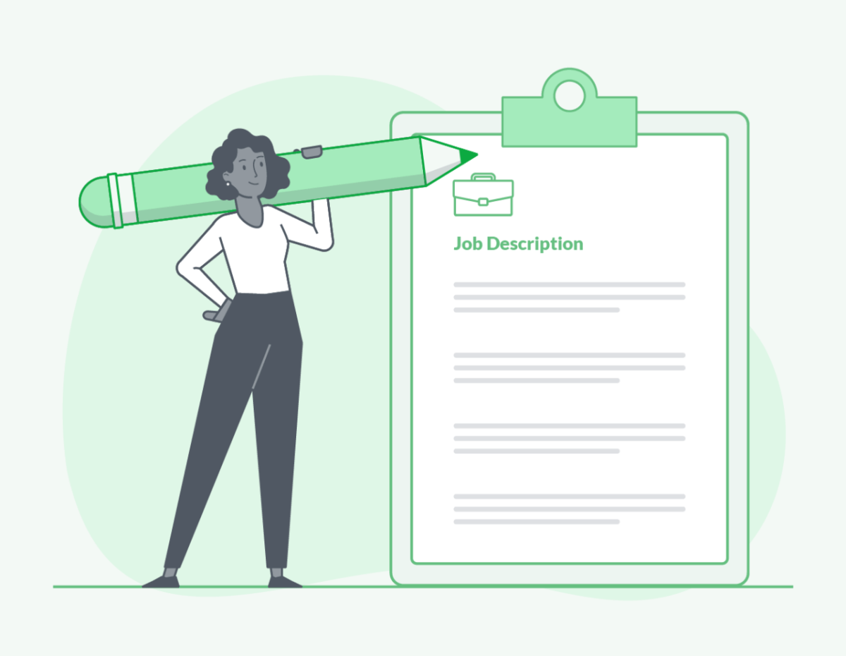 How can a specific job description help you?