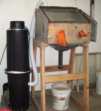 Diy Sandblast Cabinet Dust Collector Biji Us