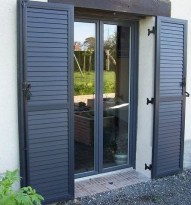 volets battants aluminium