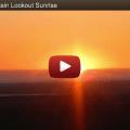 A Wild Horse Mountain Lookout Sunrise