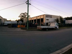 "PANO_20140728_065554 (Morning ""Photo Stroll"" through Beerwah Industrial Estate June 2014)"