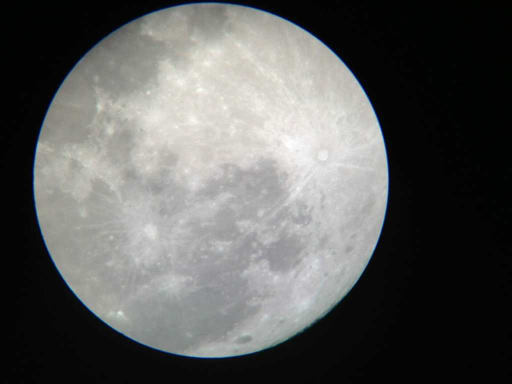 Super Moon in Beerwah on Sunday 10th August 2014