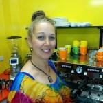 Jody Bannister Kwerky Cafe Beerwah 15 Oct 2014
