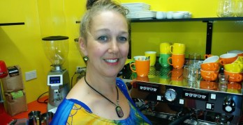 Meet the Shopkeeper:  Jody and Ken Bannister from Kwerky Cafe in Beerwah