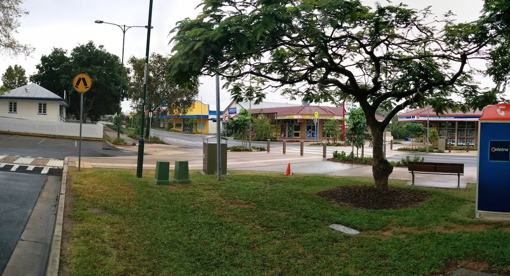A View from the Beerwah Station Carpark towards Simpson Street 2014
